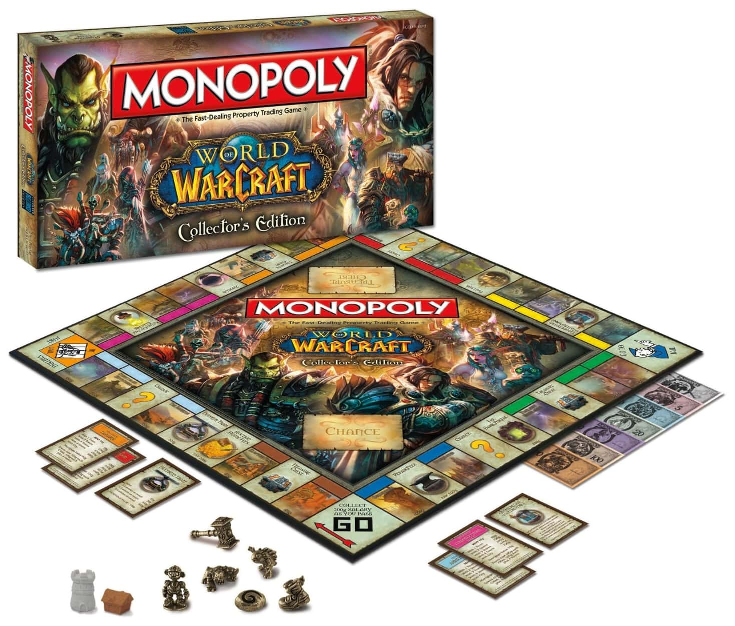 MONOPOLY World Of Warcraft Collector`s Edition