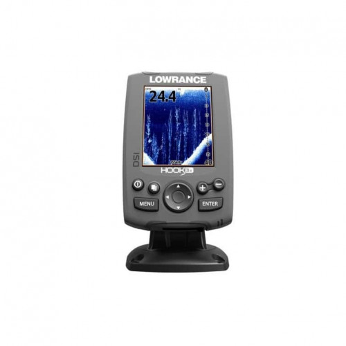 Eholote Lowrance Hook-3x Fishfinder with 83/200 EMEA - Language Pack (000-12717-001)