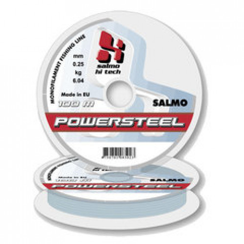 Monofīlā aukla  Salmo HI-TECH POWERSTEEL 100m 0.17mm (4015-017)