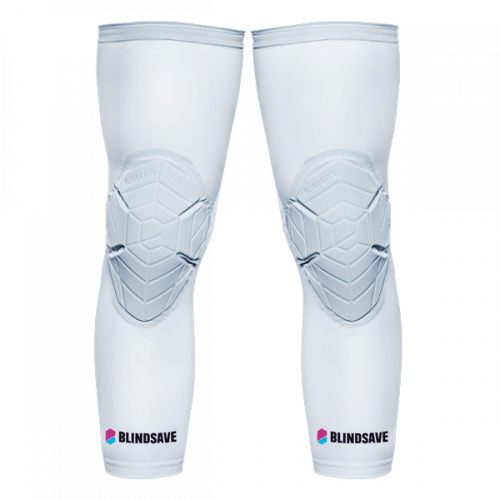 Blindsave ceļusargi Knee padding (balti)