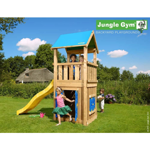 Rotaļu laukums bērniem Jungle Gym Castle Playhouse 125