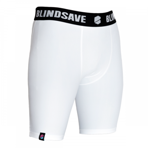 Blindsave kompresijas šorti Compression shorts (balti)