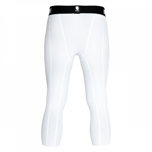Blindsave kompresijas bikses 3/4 compression tights (balti)