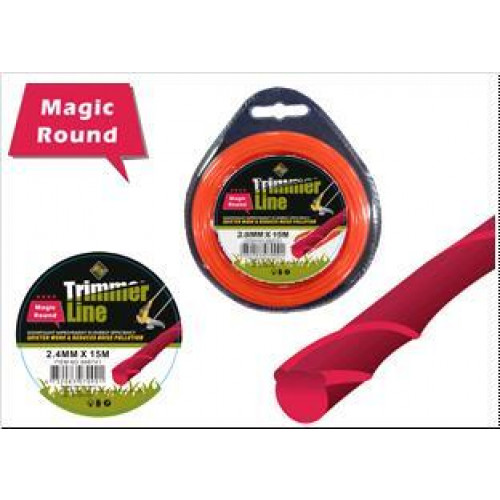 Aukla trimmerim Magic Round, D-3.0MMx12M Magic Round-3.0MMx12M 698742