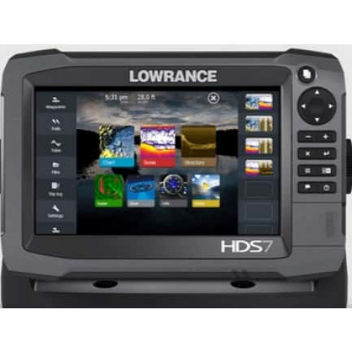 Eholote Lowrance HDS-7 GEN3 ROW M/H/TOTALSCAN (000-13264-001)