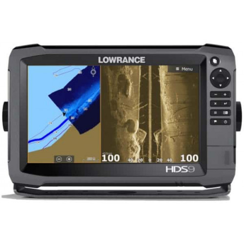 Eholote Lowrance HDS-9 GEN3 ROW M/H/TOTALSCAN (000-13266-001)