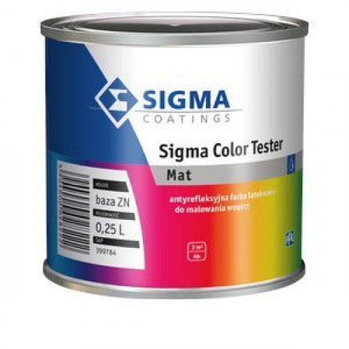 SIGMA COLOR TESTER (tonējama) 0.25L Sigma Coatings (00399784)