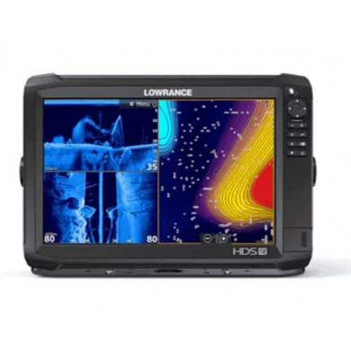 Eholote Lowrance HDS-12 Carbon ROW Med/High/TotalScan Bundle (000-13691-001)