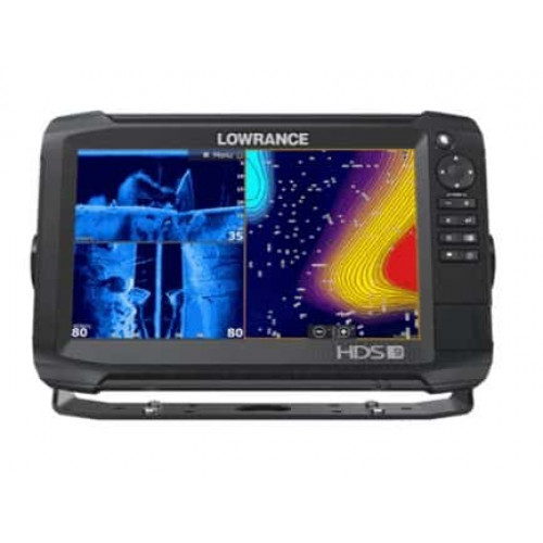 Eholote Lowrance HDS-9 Carbon ROW Med/High/TotalScan Bundle (000-13685-001)