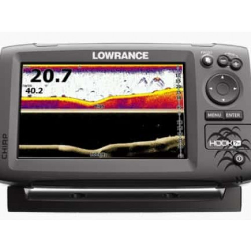 Eholote Lowrance Hook-7x  Mid/High/DownScan™ (000-12660-001)