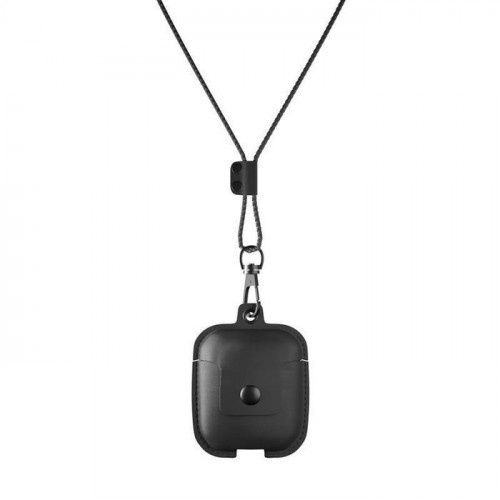 Woodcessories AirCase AirPod Leather case black eco308 (T-MLX36602)