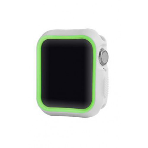 Devia Dazzle Series protective case (40mm) for Apple Watch silver yellow (T-MLX37500)