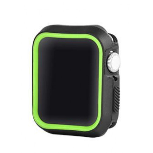 Devia Dazzle Series protective case (40mm) for Apple Watch black yellow (T-MLX37503)