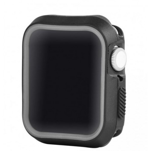 Devia Dazzle Series protective case (40mm) for Apple Watch black gray (T-MLX37504)