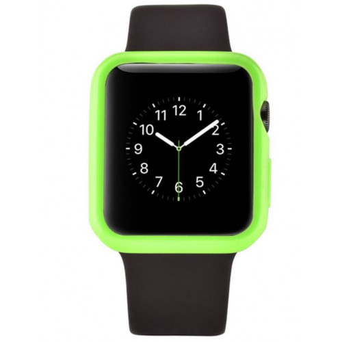 Devia Colorful protector case for Apple watch (38mm) green (T-MLX37510)
