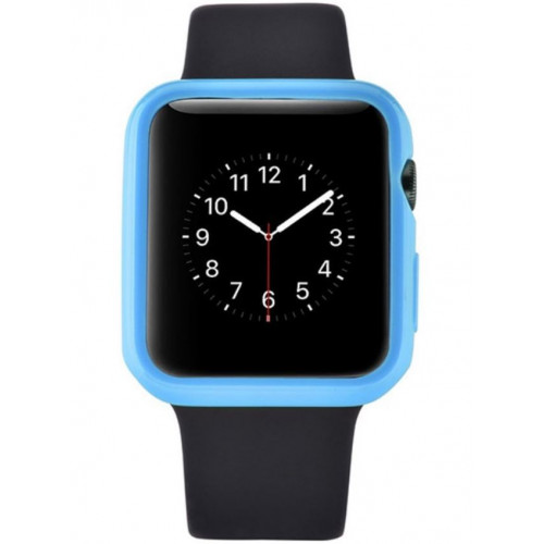 Devia Colorful protector case for Apple watch (38mm) blue (T-MLX37511)