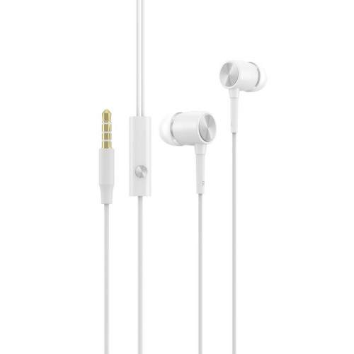 Devia Cool sound series wired earphone white (T-MLX38089)