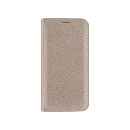 Tellur Book case Synthetic Leather for iPhone X/XS gold (TLL118984, T-MLX38356)