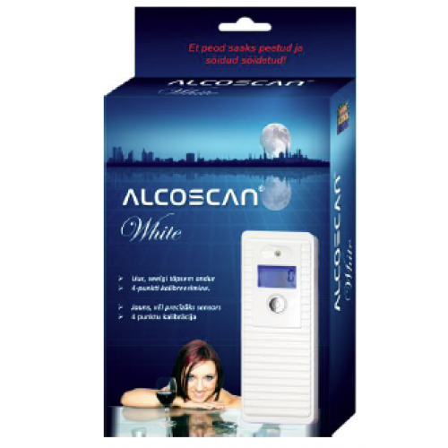 PERSON LAIS ALKOMETRS ALCOSCAN®WHITE