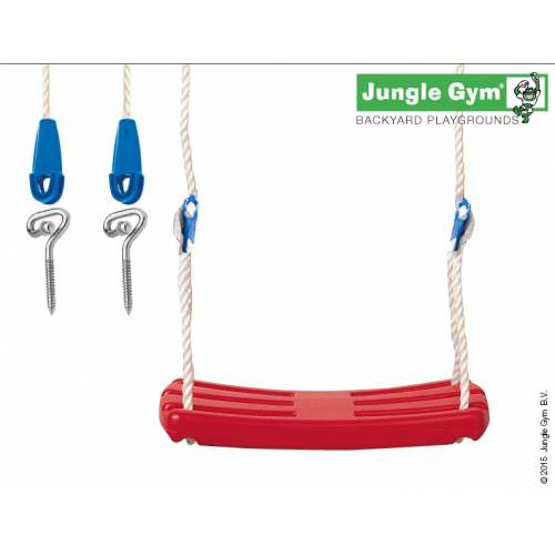 Rotaļu šūpoles laukumiņam Jungle Gym Swing Seat Kit Red (250_034)