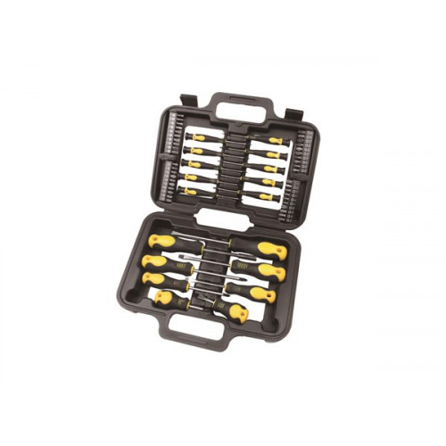 SCREWDRIVER & BIT SET - 58 pcs HSET24