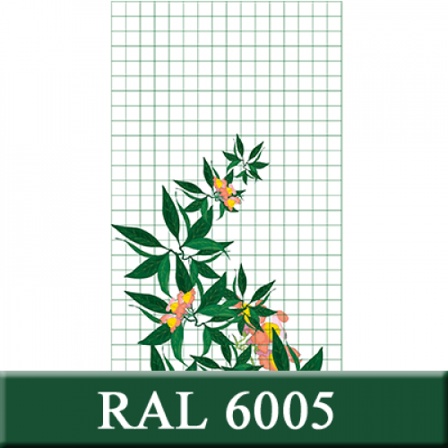 0,8*1,5;50*50;2,5/3,2;ral6005 (001110)